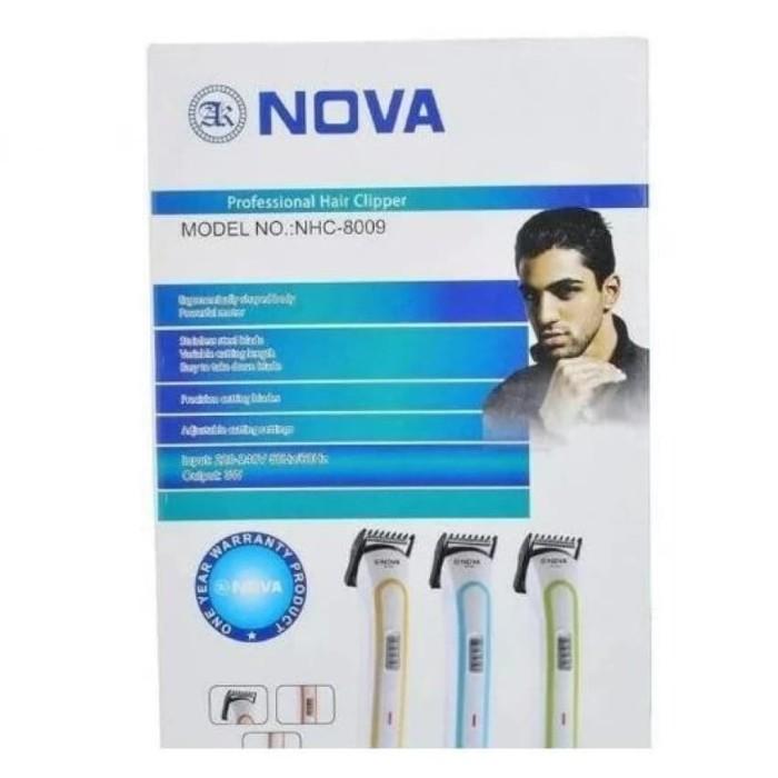 Jual Nova Alat Cukur Rambut Jenggot - Hair clipper - Nova NHC 8009 ... aa9fd63c36