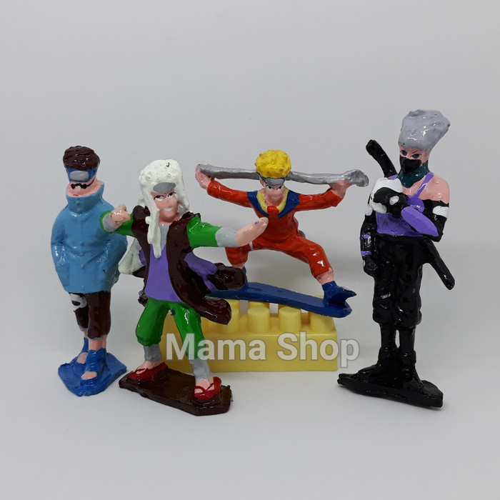 harga Toper naruto boneka kue figure / patung kue utk hiasan kue ultah anak Tokopedia.com