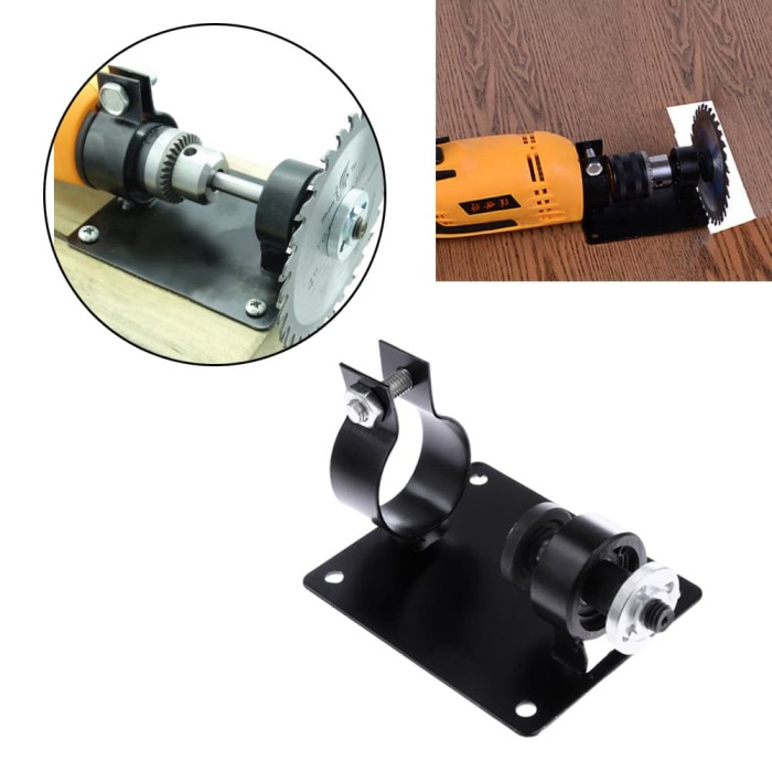 harga Bracket holder stand mesin bor 10-13mm conversion diy table saw *ga02 Tokopedia.com