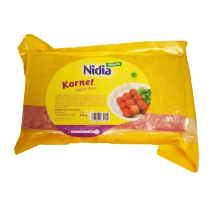 Hasil gambar untuk nidia kornet Ayam 450gr