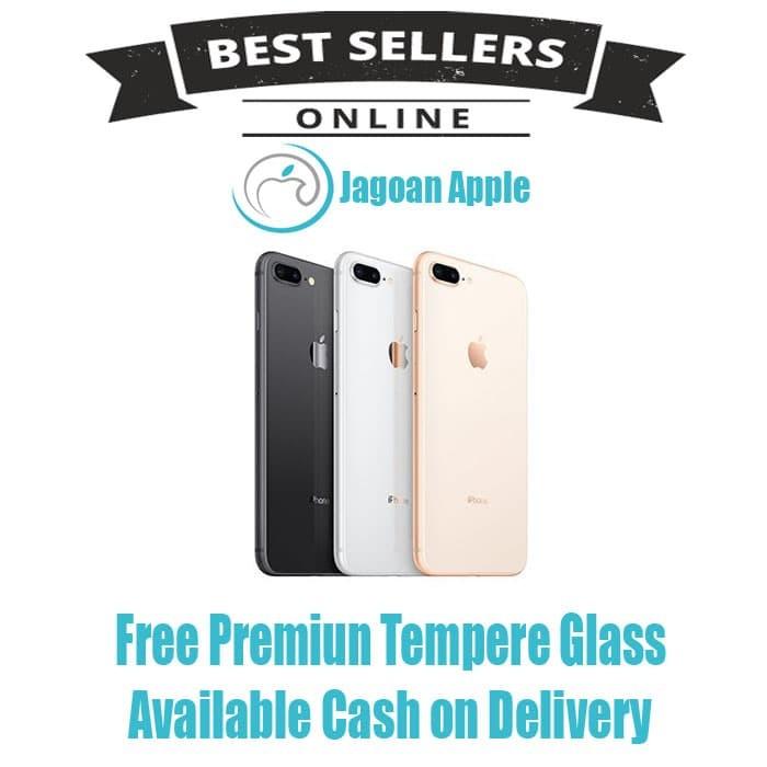 Jual FREE TEMPERED GLASS iPhone 8 Plus 64GB SILVER BNIB NEW SEGEL ... 7ab6ce7707