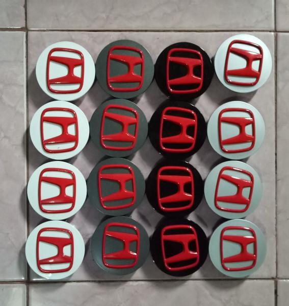 harga Dop roda honda crv hrv brv stream logo warna merah Tokopedia.com