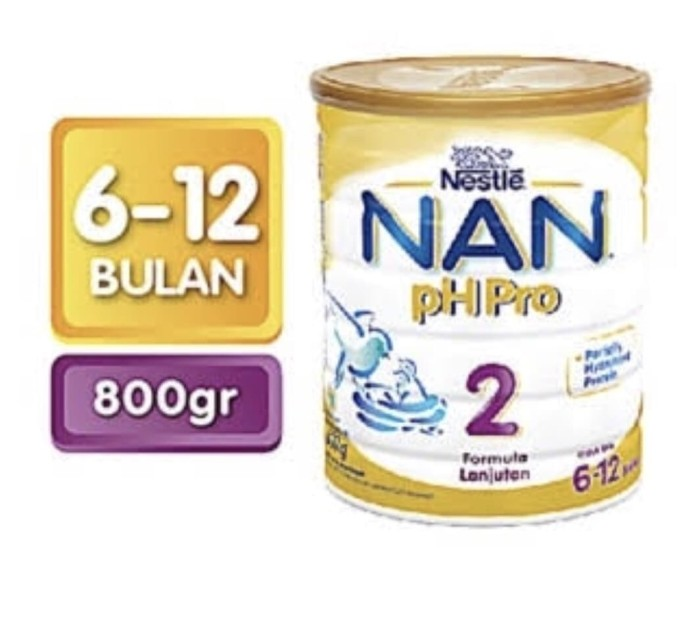 harga Nestle nan ph pro 2 800gr Tokopedia.com