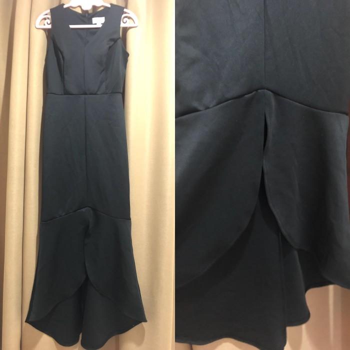 harga Party dress sweet storm black mermaid tail dress pesta dress prom ori Tokopedia.com