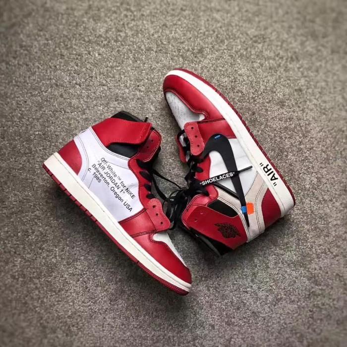 584bd0dd7c25 Jual Nike the ten Air Jordan 1 Chicago X Off White - Kota Surabaya ...