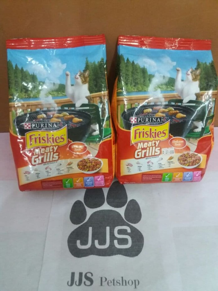 Makanan Kucing Friskies Meaty Grills 450gr