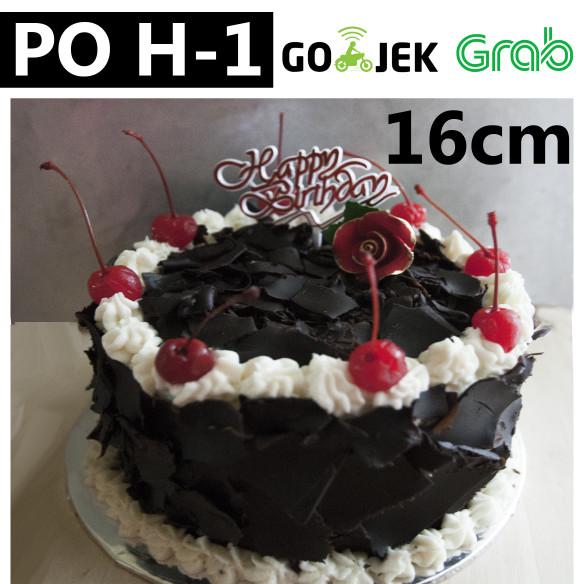 Jual Black Forest Cake Kue Ulang Tahun Kue Tart Istimewa Kecil Jakarta Barat Sapi Ungu Shop Tokopedia