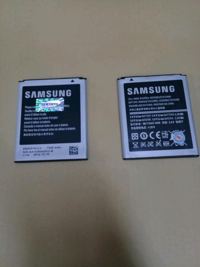 harga Baterai samsung galaxy s3 mini / ori / battrey / batrai / batre hp Tokopedia.com