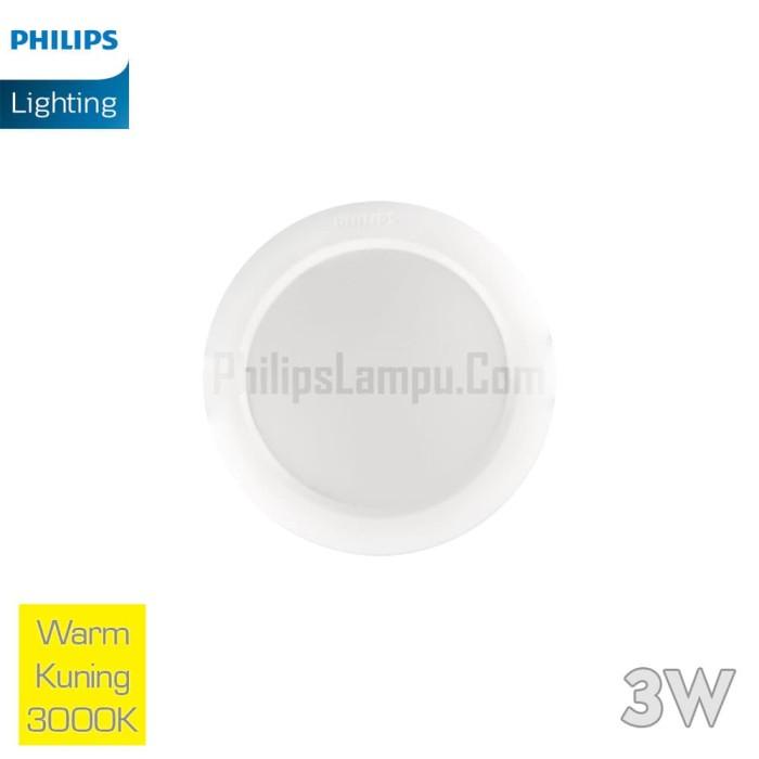 Foto Produk Lampu Downlight LED Philips 3W 59260 Eridani Warm White Kuning dari philipslampu
