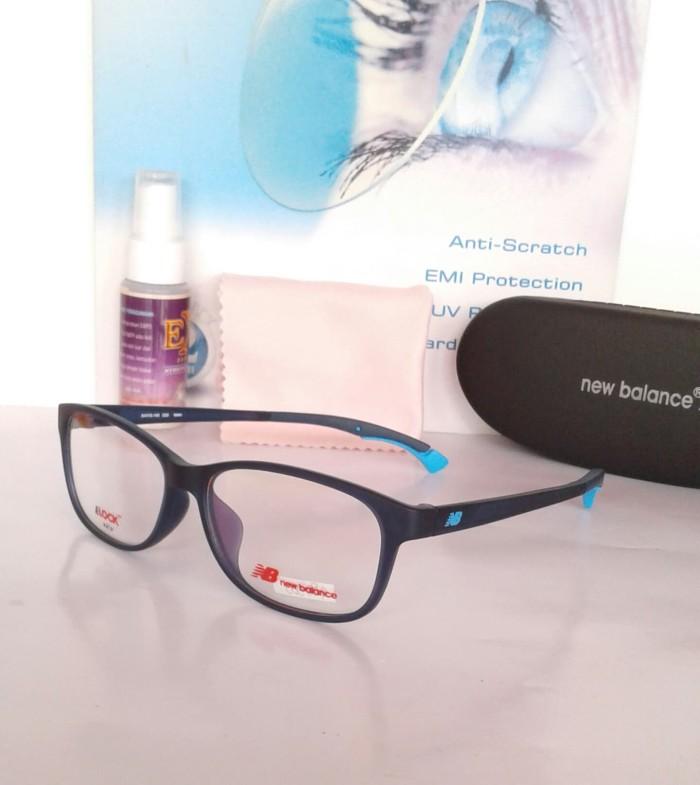 Frame kacamata nb09014 bl-gy kacamata olahraga kacamata minus 3e0c13b407