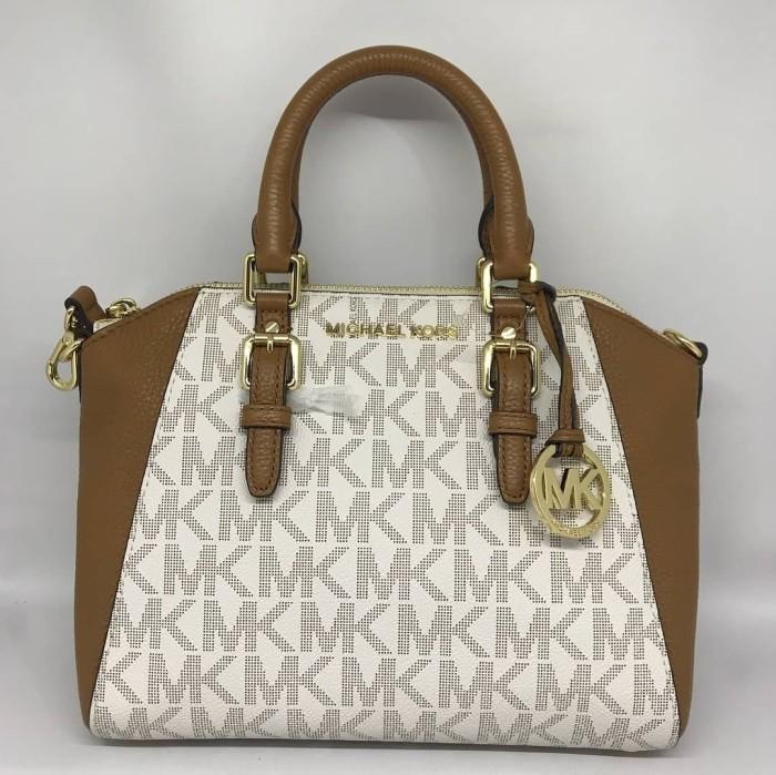 afebc992718b Jual Tas Michael Kors Original   MK Ciara Medium Messenger Vanilla ...