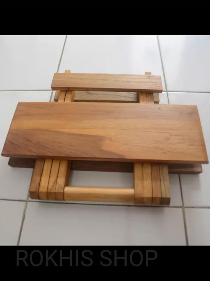 harga Meja lipat kayu jati Tokopedia.com
