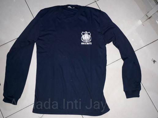 Jual Kaos Oblong Security Lengan Panjang Biru Dongker L Baju Dalam Satpam Jakarta Pusat Armada Inti Jaya Tokopedia