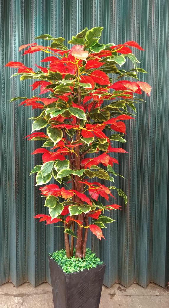 Jual Pohon Simfu Mix Bunga Plastik Hiasan Rumah Cantik Kab Bogor Re Shope Tokopedia
