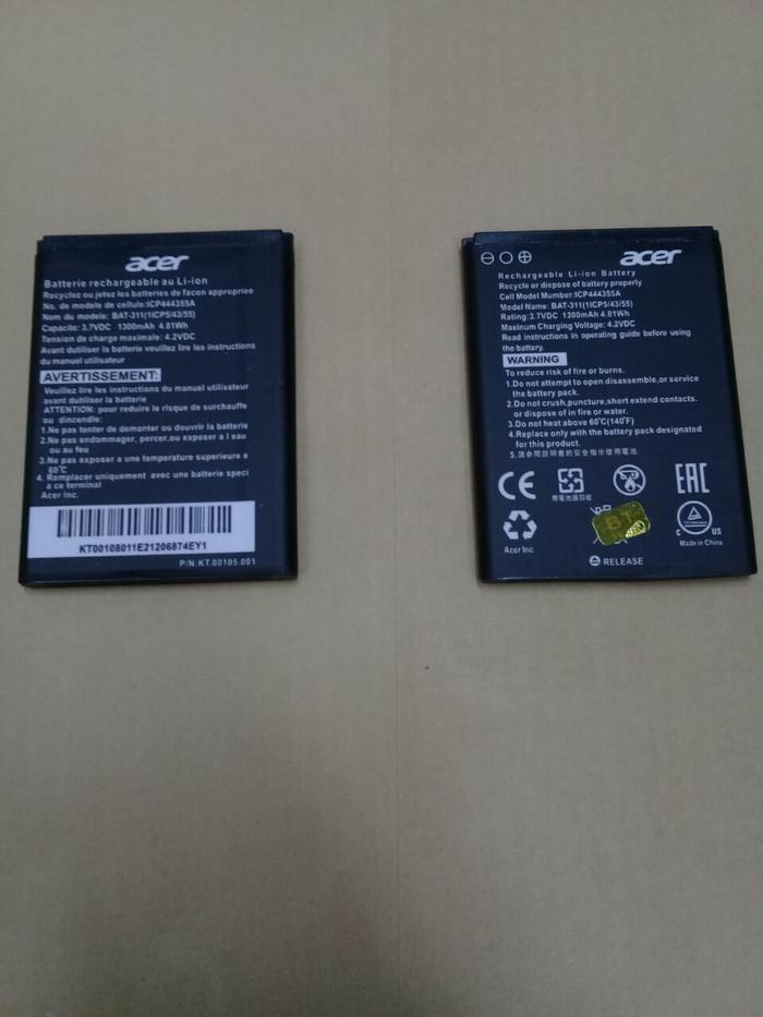 harga Baterai acer liquid z205 / bat-311 / 311 / ori / battrey / batrai hp Tokopedia.com