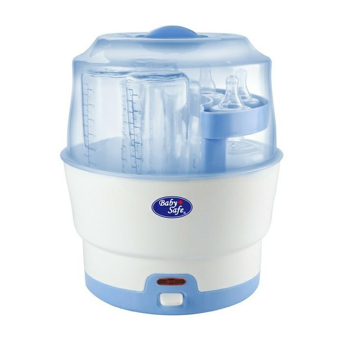 Baby Safe Bottle Express Steam Sterilizer 6 Bottle / Alat Steril Botol