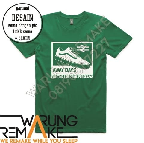 harga Kaos t-shirt baju jersey persebaya away day: fighting for pride Tokopedia.com