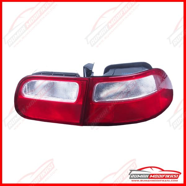 harga Stop lamp - honda civic estilo 1992-1995 - red clear - sonar Tokopedia.com