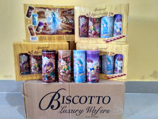 harga Biscotto luxury wafers Tokopedia.com