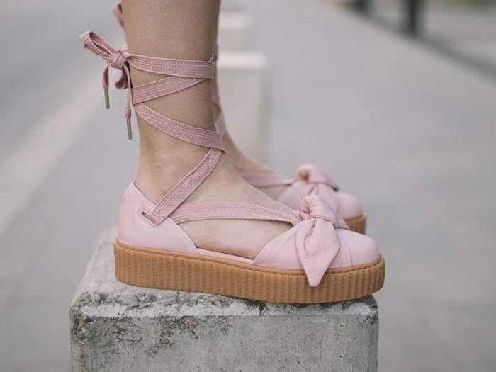 lowest price 73131 26e0e Jual Sandal Wanita - Rihanna x Puma Fenty Bow Creeper Sandal Pink - PRM -  Kab. Tangerang - csneakers | Tokopedia