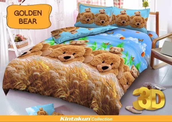 Kintakun d'luxe kids g0lden bear queen 160x200 no.2 cute bear