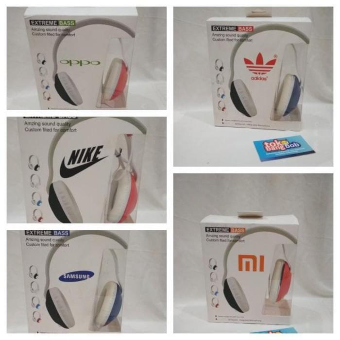 harga Headphone adidas nike oppo xiaomi samsung extreme bass 3d sound Tokopedia.com