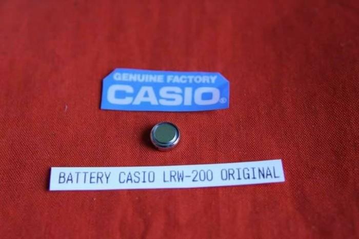 harga Baterai jam tangan batre battery batere batrai casio lrw-200 Tokopedia.com