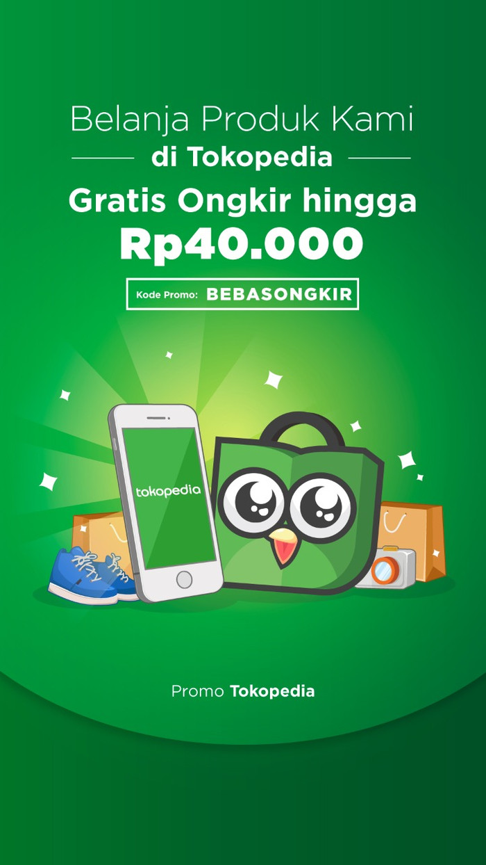 Jual Promo Free Ongkir Tanpa Minimum Belanja Kota Bekasi Mamud Store Tokopedia