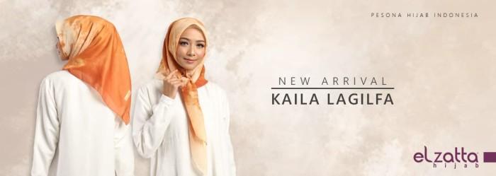 Jual Jilbab Elzatta Segiempat Kaila Lagilfa Scarf Hijab Terbaru