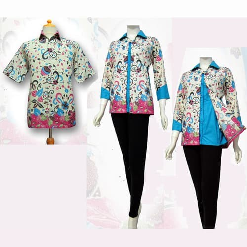 Jual Model Baju Blouse Batik Couple Terbaru Blus Atasan Batik Sa 300 Kab Boyolali Baju Batik Dinasti Tokopedia