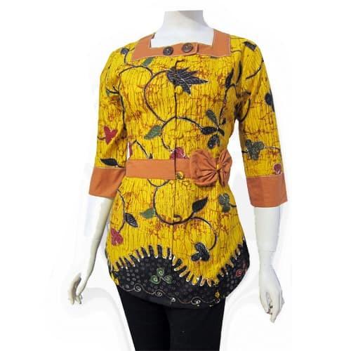 Jual Model Baju Blouse Batik Terbaru Blus Atasan Batik Sa 381 Kab Boyolali Baju Batik Dinasti Tokopedia