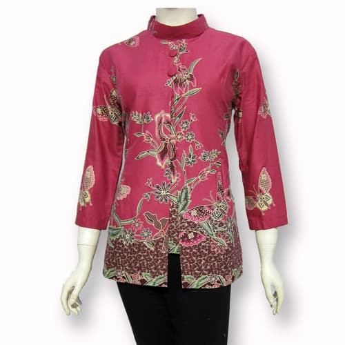 Jual Model Baju Blouse Batik Terbaru Blus Atasan Batik Sa 345 Kab Boyolali Baju Batik Dinasti Tokopedia