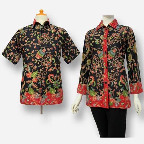 Jual Model Baju Blouse Batik Couple Terbaru Blus Atasan Batik Sa 321 Kab Boyolali Baju Batik Dinasti Tokopedia