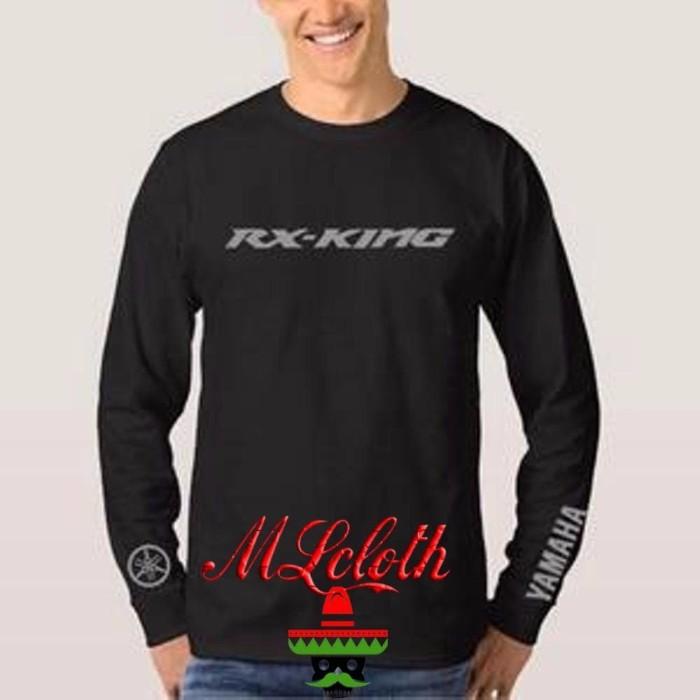harga Kaos baju longsleeve lengan panjang aksesoris yamaha rx king motor p Tokopedia.com