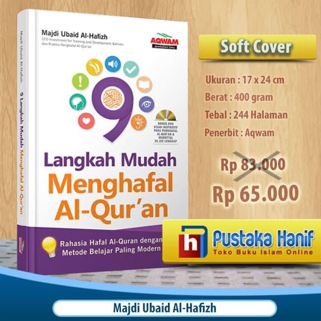 Buku 9 Langkah Mudah Menghafal Al Quran + Bonus DVD - AQWAM
