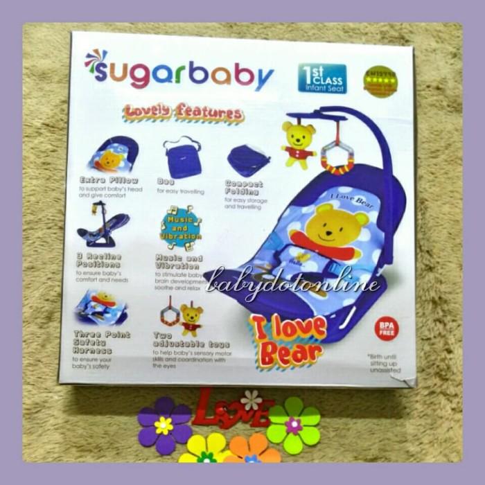 Jual Sugar Baby Bouncer 1st Class Infant Seat Kursi Getar Bayi