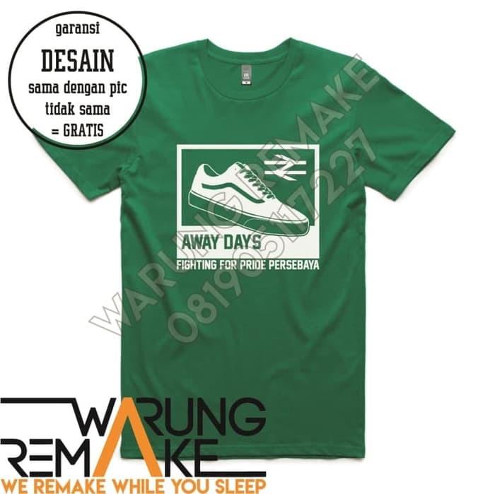 harga Kaos tshirt baju combed 30s distro persebaya bonek away days jersey Tokopedia.com