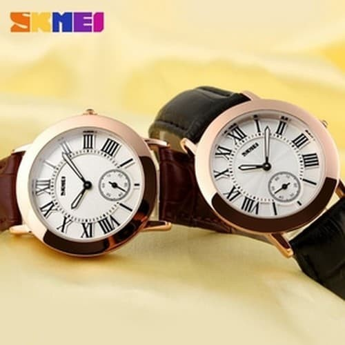 Jam Tangan Wanita SKMEI Fashion Casual Leather Strap - 1083CL
