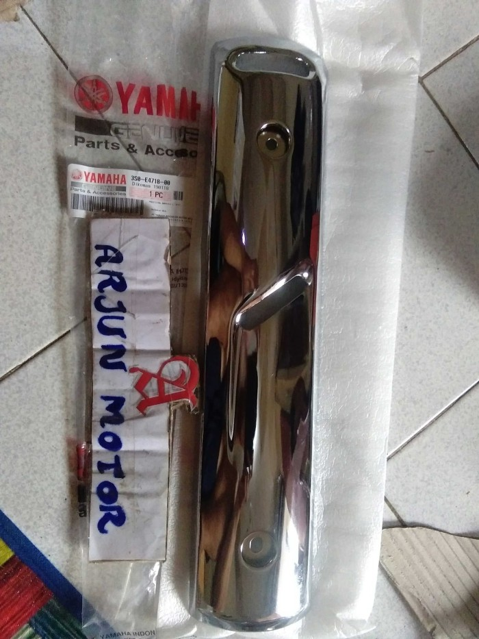 harga Cover knalpot vega r new jupiter z burhan ori ygp Tokopedia.com