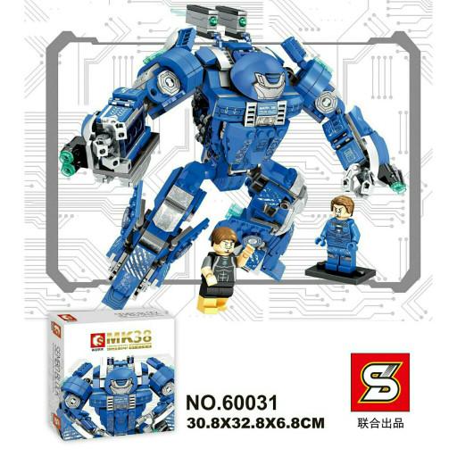 harga Sembo 60031 lego ironman mk38 hulkbuster igor sy mk 38 super heroes Tokopedia.com
