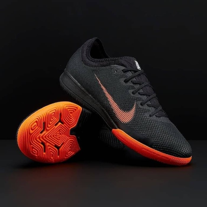 6734e597172 ... new zealand nike mercurial vapor x xii pro ic tf black total orange  11072 6964a
