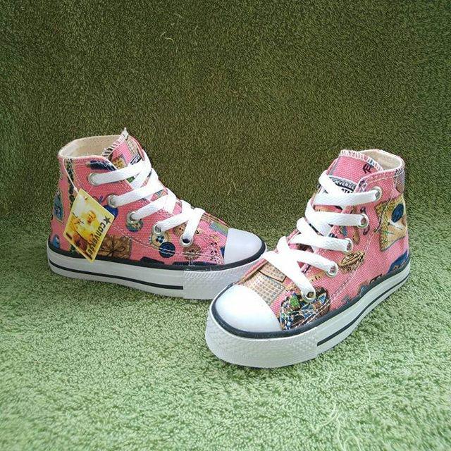 ... harga Converse high motif kids   sepatu jalan jalan   sepatu couple  Tokopedia.com 3b9c719169