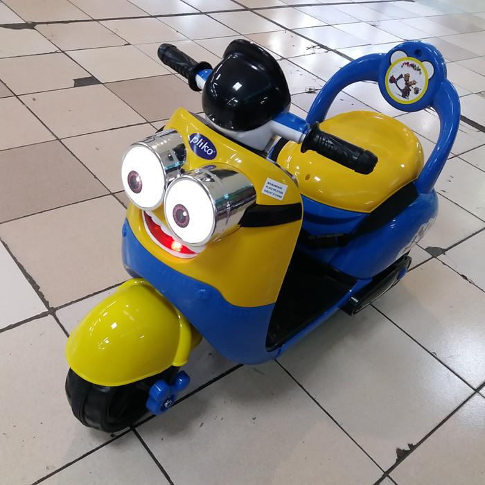 harga Motor aki pliko minion remot control dan manual Tokopedia.com