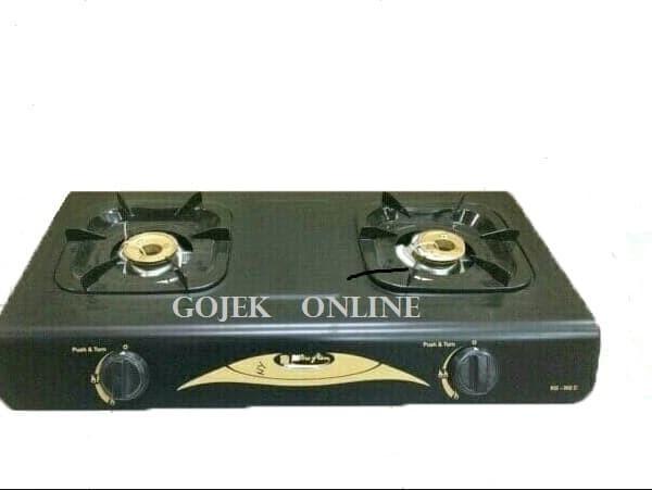 harga Kompor gas 2 tungku miyako kg 302c- burner kuningan Tokopedia.com