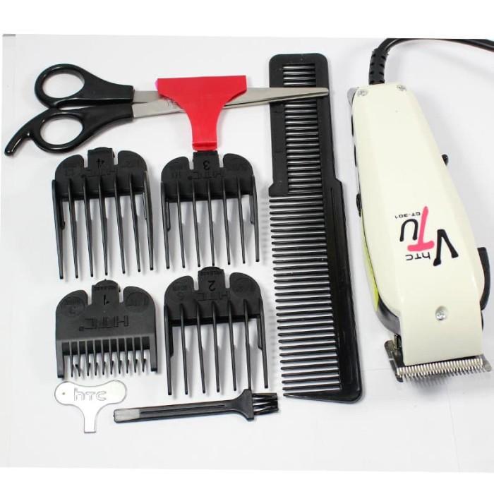 Mesin cukur rambut HTC CT-301 Hair clipper pangkas rambut profesional