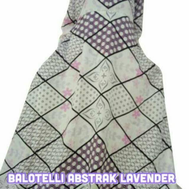 baju muslim wanita Gamis Motif Abstrak Balodior | Balotelli Syari 2