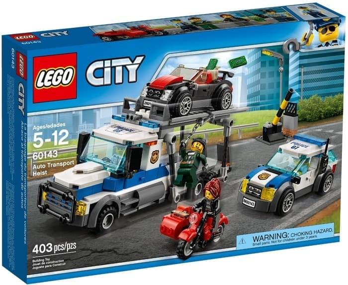 Jual Lego City 60143 Auto Transport Heist Mobil Polisi K13 Kab