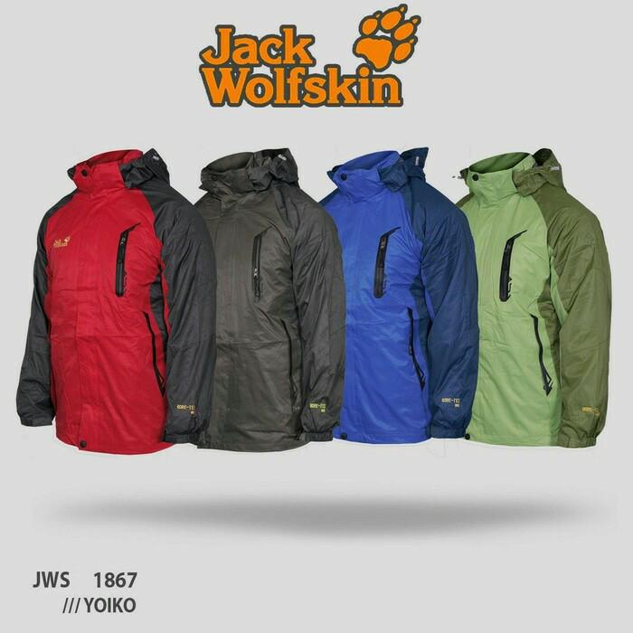 harga Jaket gunung outdoor jack wolfskin double layer 1867 import Tokopedia.com