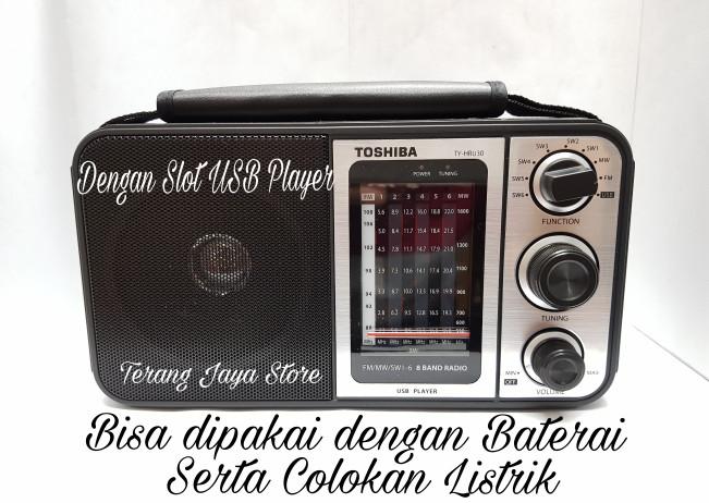 Foto Produk Radio Listrik Toshiba 8 bands TY-HRU30 Radio USB Player (100% ASLI) dari Terang Jaya Store