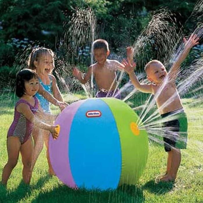 harga Bola air spray sprinkler water ball smash it toys Tokopedia.com